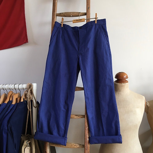 """True Vintage French 1988 Beaudeux Workwear Trousers W34"""""""