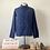 Thumbnail: Vintage German Herringbone Cotton Workwear Chore Jacket S/ S- M