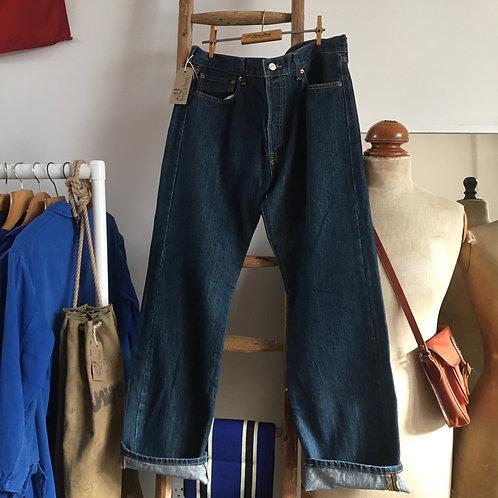 "Vintage Levis 501 Indigo Denim Jeans W36"" L32"""