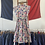 Thumbnail: True Vintage 1940s USA Belle of My Heart Print Dress UK8 XS/S