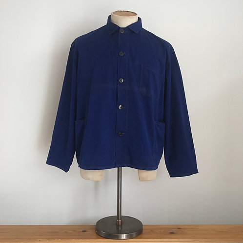 Vintage European Cotton Workwear Jacket S M