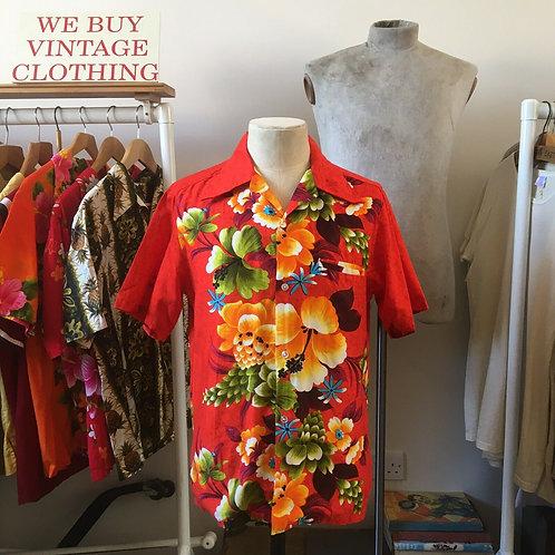 True Vintage USA Penneys Hawaii Cotton Shirt S-M/M