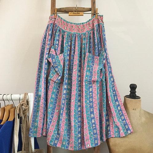 "True Vintage 1940s Skirt UK14 16 18 30""-"