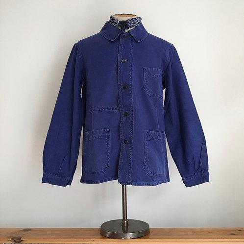 Vintage 1950s French Le Très Souple Workwear Jacket M-L/L