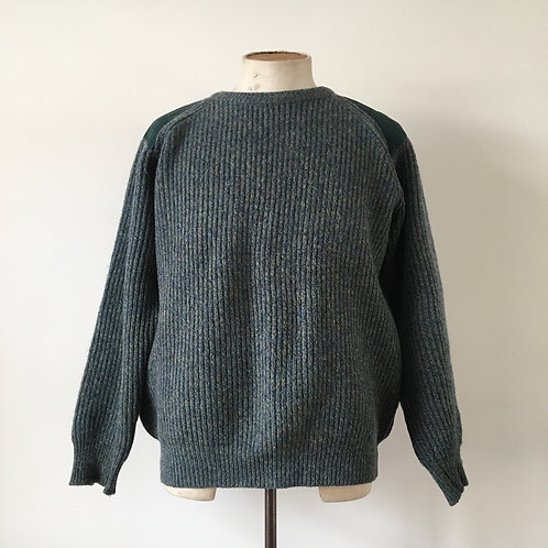 Vintage 100% Wool Sweater Made in Scotland L