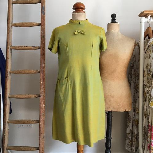 True Vintage 1960s Dress UK14 M- L