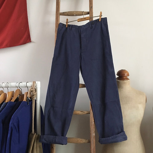"""Vintage Cotton Workwear Chore Trousers W33"""""""