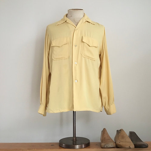 Original Vintage 1940s/50s Daily Double USA Shirt M