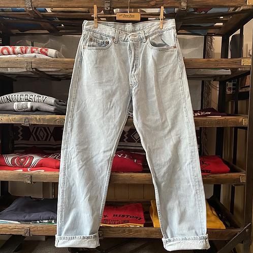 """True Vintage 1980s Levis 501 Denim Jeans W31""""/32"""" L30"""""""