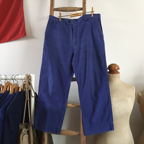 """True Vintage French Adolphe Lafont Workwear Trousers W35"""""""