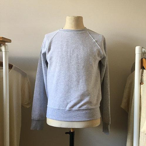 Vintage Style Grey Marl Sweatshirt S