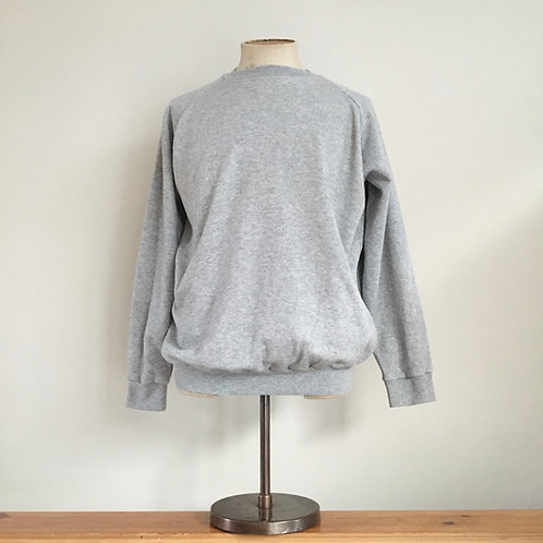 True Vintage Grey Marl Sweatshirt XL