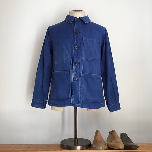 True Vintage French Faded Workwear Jacket S