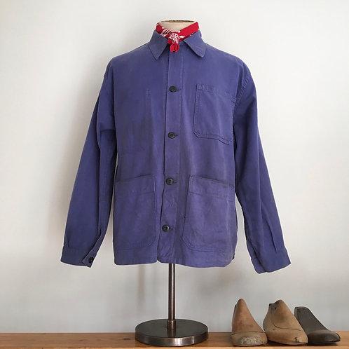 True Vintage French 1970s Workwear Jacket L