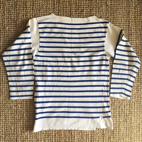 """True Vintage French Mariniere Marine Nationale Top XS/S 34"""""""