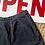 "Thumbnail: True Vintage 1950s Black Cotton Shorts W27"""