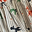 "Thumbnail: True Vintage 1950s Novelty Poodle Print Cotton Skirt UK8 10 W27"""