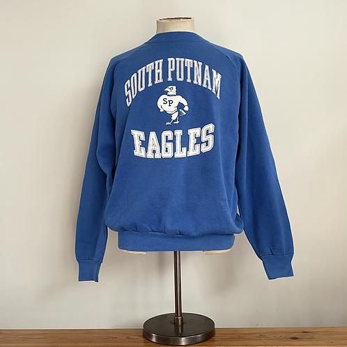 Vintage USA South Putnam Eagles Road Sweatshirt L/XL