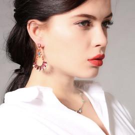 Cradle Multi Drop Earrings
