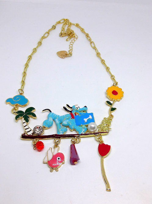 Cartoon Scooby Doo Colourful Childrens Necklace