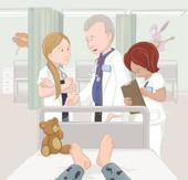 איור מתוך הספר - שפת הסתרים של בית החולים