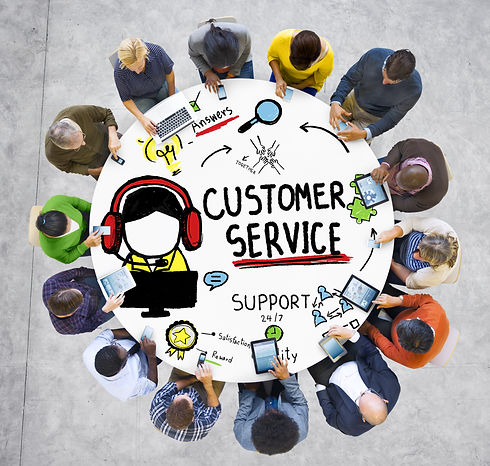 Customer Service Support Assistance Serv