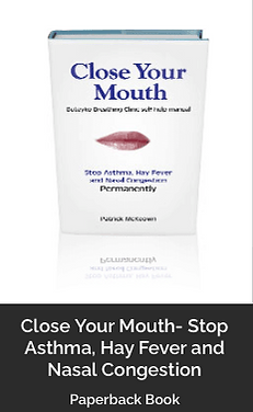 Close Your Mouth by Patrick McKeown