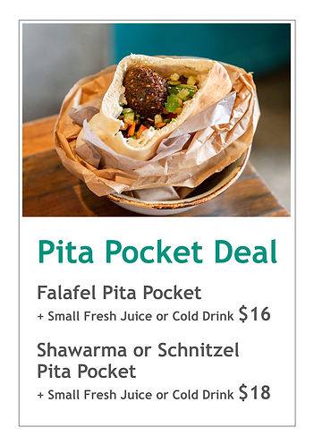 Pita Pocket Deal