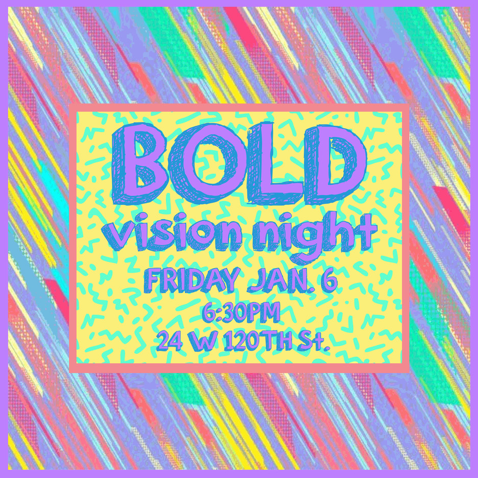 BOLD: Vision Night