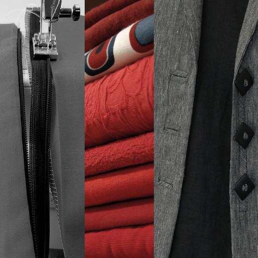 Textilien Rot