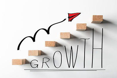 Business growth concept picture for busi
