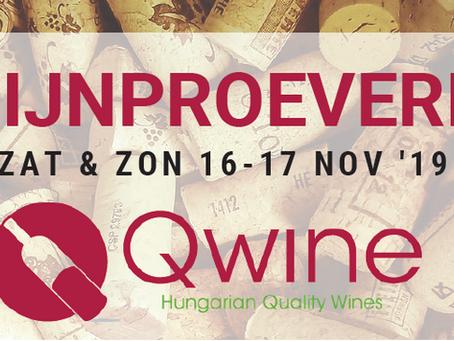 Grote Herfstdegustatie Qwine - Hongaarse wijnen