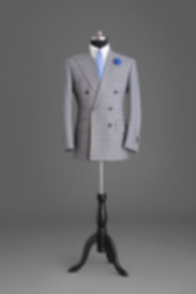 Grey Doubled-breasted Suit Jacket.jpg
