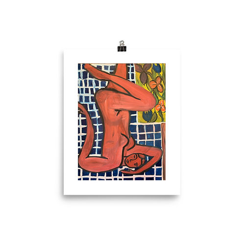 Red Woman, an Homage to Henri Matisse PRINT - Lily Formato