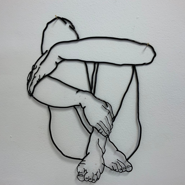 Holding Knees