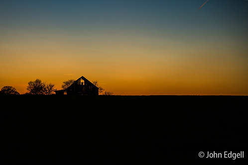 Sunset on a Tennessee Barn