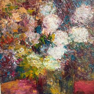 Chrysanthemums 16x20