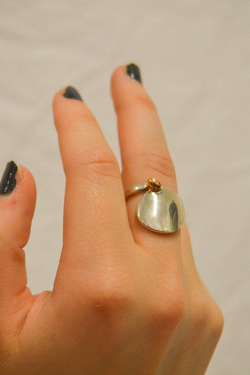 14K Silver Ring