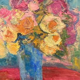 Blue Vase 16x20