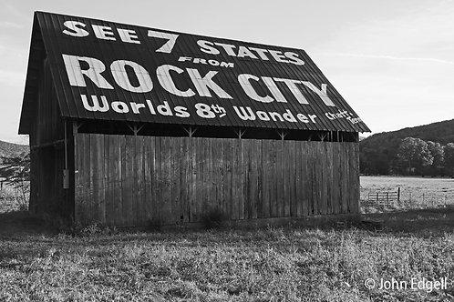Rock City Barn near Crossville, TN