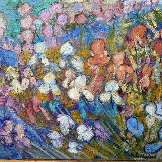 Iris Garden 36x48