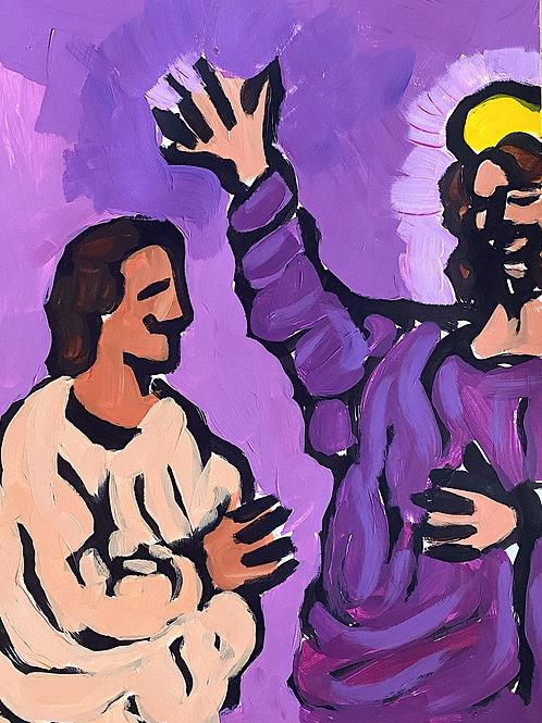 Christ Blesses St. Thomas