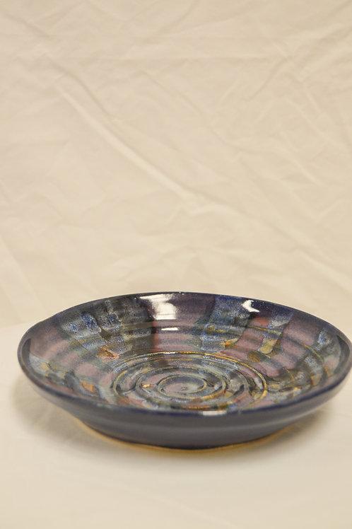 Spiral Shallow Bowl