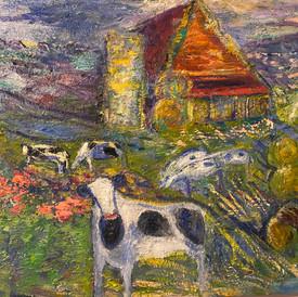cows 30x40