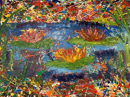 Splatter Lillies