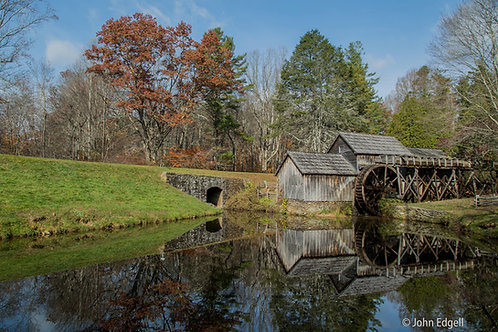 Mabry Mill meadows of Dan,VA