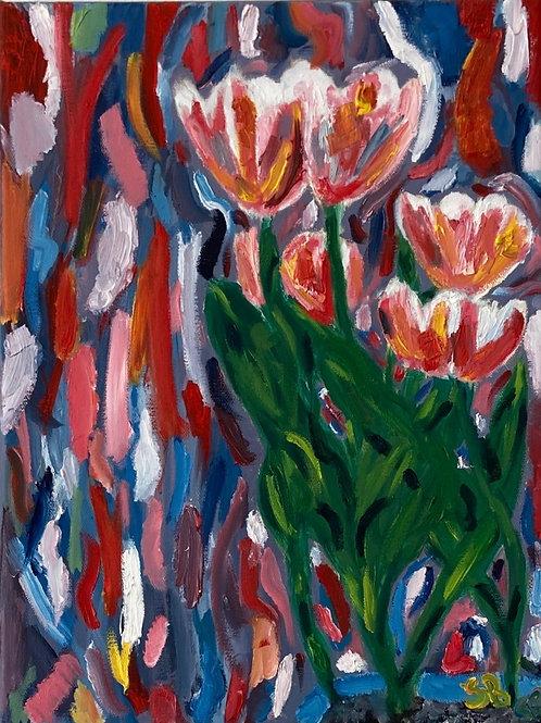 Gogh Tulips