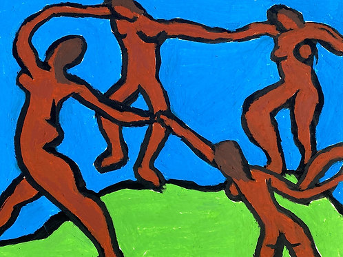 Matisse's Dance with Red Figures