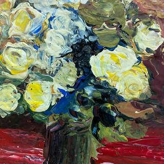 Yellow Rose 5x7