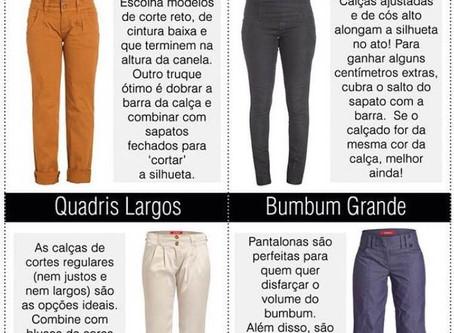 A calça certa para cada tipo de corpo!